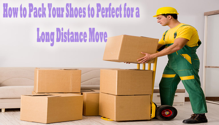 How to Pack Your Shoes to Perfect for a Long Distance Move