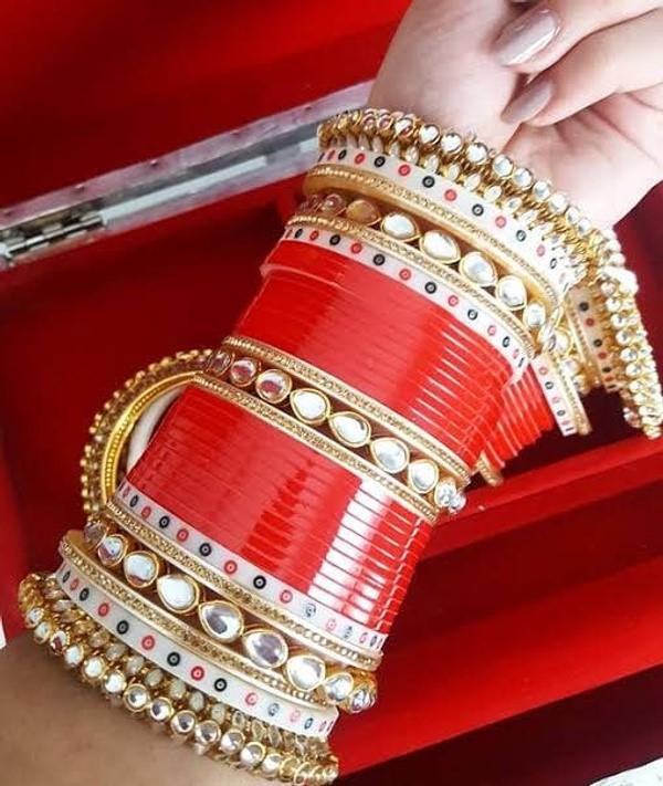 bridal chuda designs