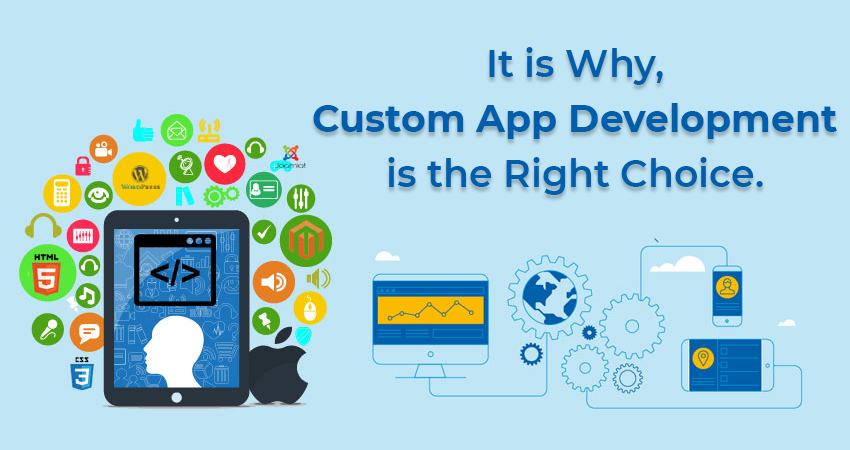 It is Why, Custom App Development is the Right Choice
