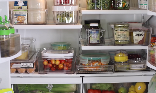 Cover your foods and drinks in the refrigerator