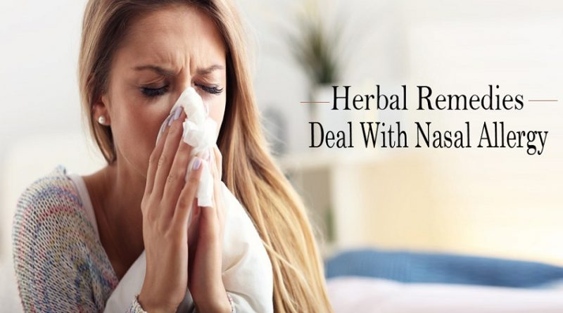 remedies of nasal problem