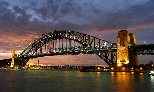 Sydney harbour places to visit australia