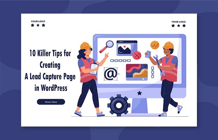 Create Capture Page in WordPress